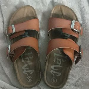 Women's Mad Love Double Band Sandal size 5
